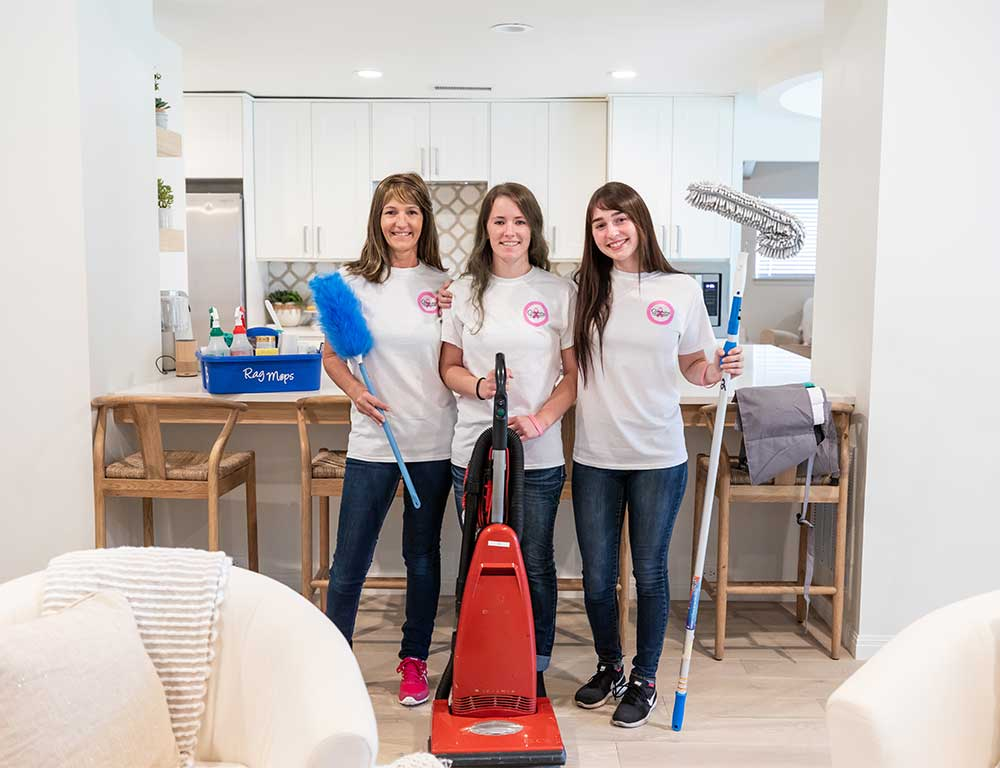 Rag Mops Cleaning Service aims to be the best maid service through our quality house cleaning and exceptional customer service. With our centralized location in Lewisville, we're able to provide residential cleaning services to Lewisville, Highland Village, Lantana, Double Oak, Copper Canyon, Corinth, Lake Dallas, and Hickory Creek.