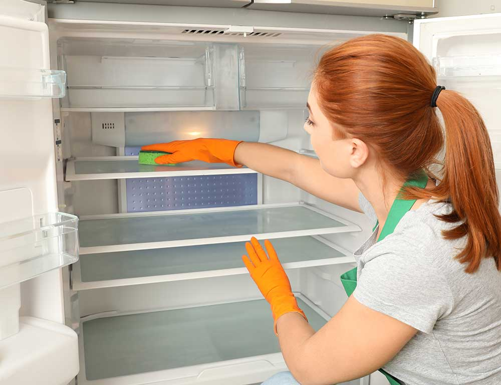 6 Steps to Deep Clean Your Fridge | Rag Mops Cleaning Service aims to be the best maid service through our quality house cleaning and exceptional customer service. With our centralized location in Lewisville, TX, we're able to provide residential cleaning services to Lewisville, Highland Village, Lantana, Double Oak, Copper Canyon, Corinth, Lake Dallas, and Hickory Creek.
